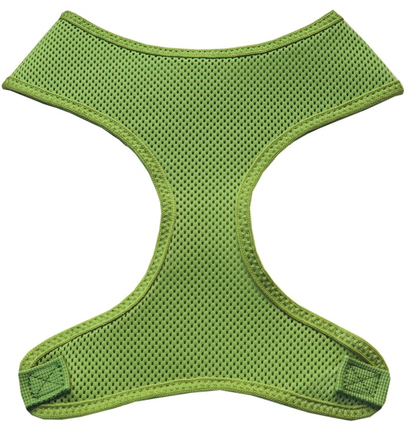 Soft Mesh Pet Harnesses Lime Green Large