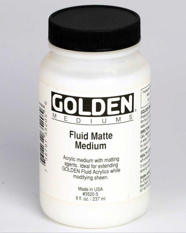 Fluid Matte Medium 8 Fl Oz