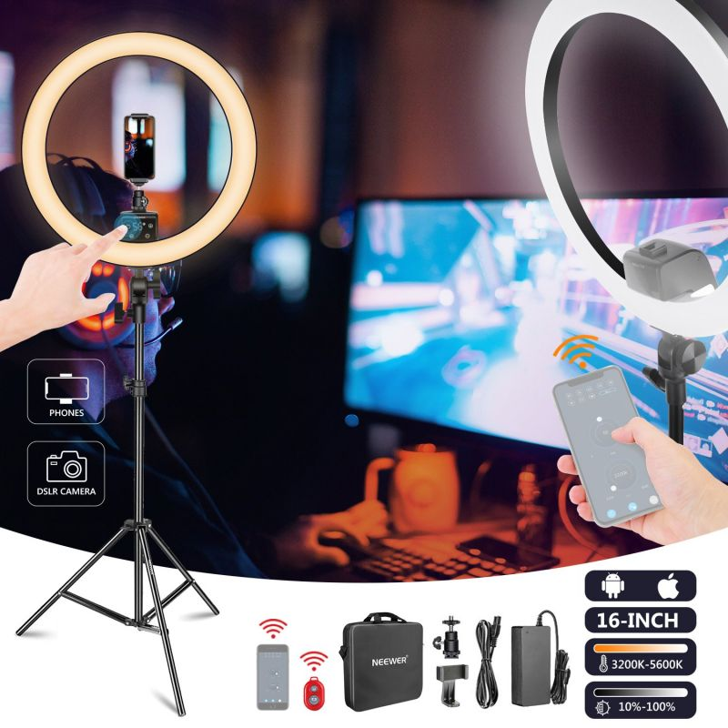 Neewer App Control 16-inch Led Ring Light