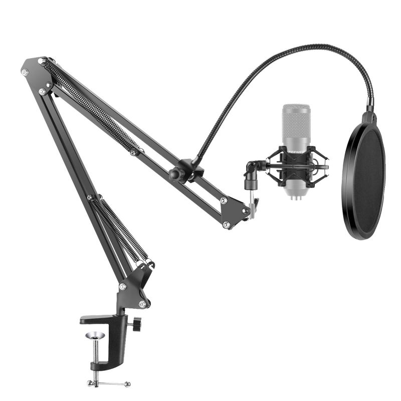 Neewer Nw-35 Microphone Suspension Boom Scissor Arm Stand