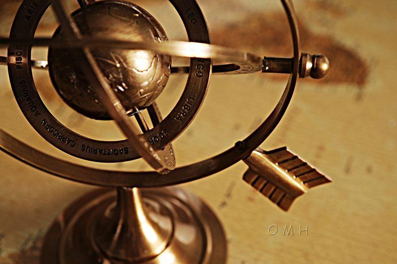 Brass Armillary