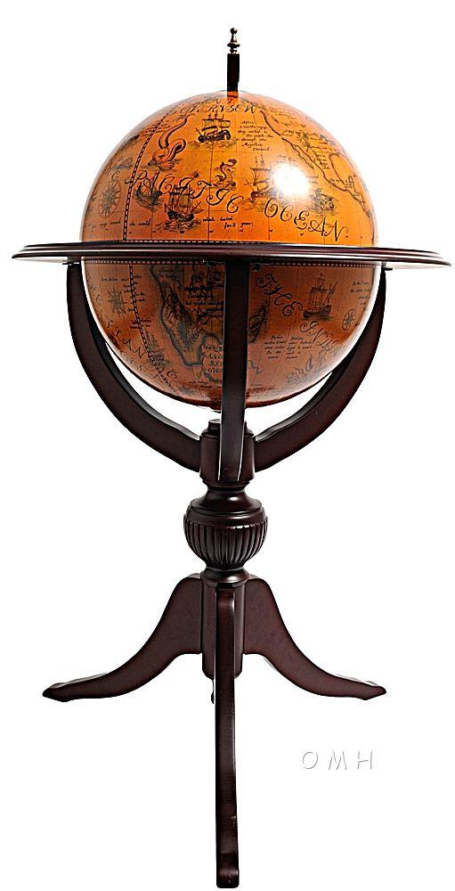 Globe Bar 17 3/4 Inches - 3 Legs