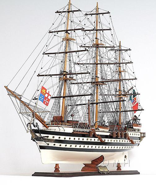 Amerigo Vespucci Painted