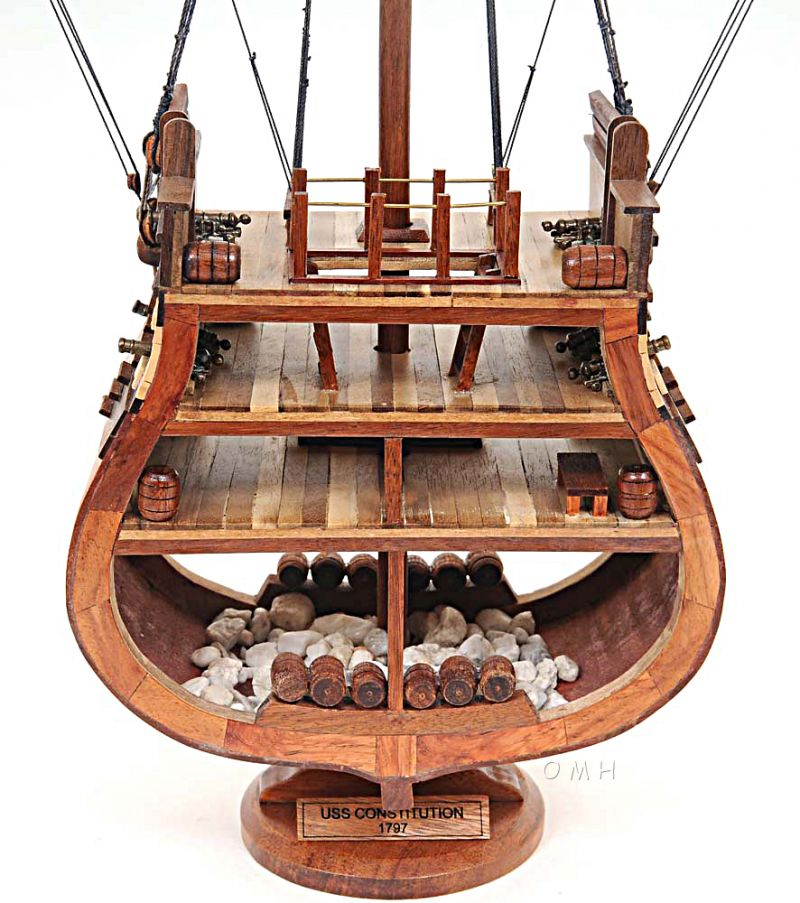 Uss Constitution Cross Section