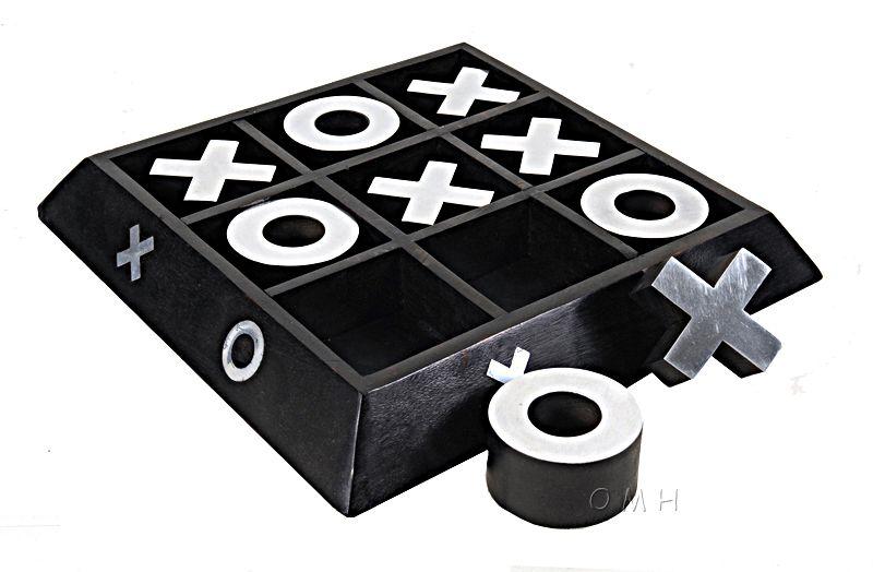 Wooden/ Aluminium X-O Game
