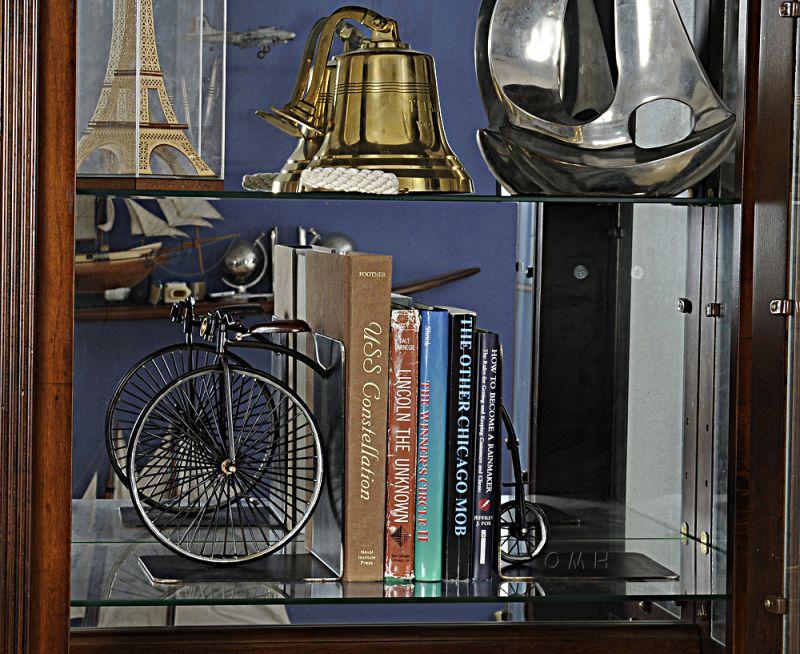 1870 The High Wheeler Bookend