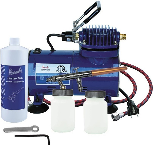 Paasche TS-500T Airbrush Tanning Set with Fan Aircap