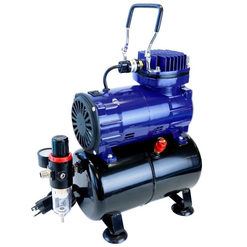 Paasche D3000R Air Compressor: 1/8 HP