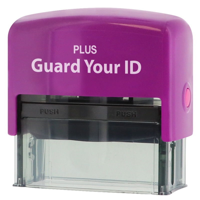 Guard Your Id Stamp - Large (is-250cm)