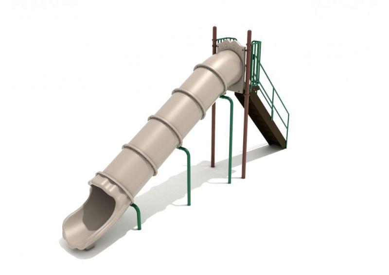 7 Foot Straight Tube Slide