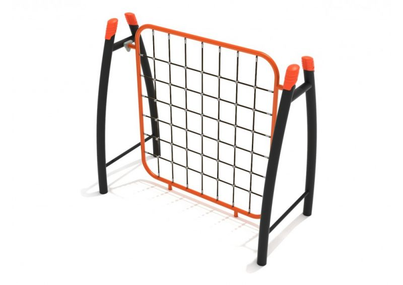 Curved Post Net Climber