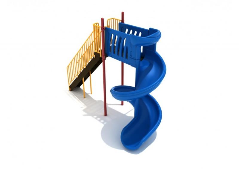 8 Foot 450-degree Spiral Slide