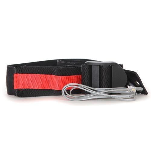 Velcro seat belt sensor. Early warning E-Z release