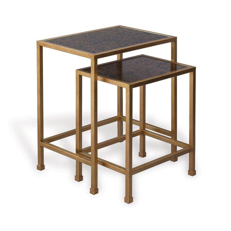 Peyton Gold Tables (Set Of 2)