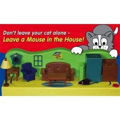 Mouse In The House Cat Toy