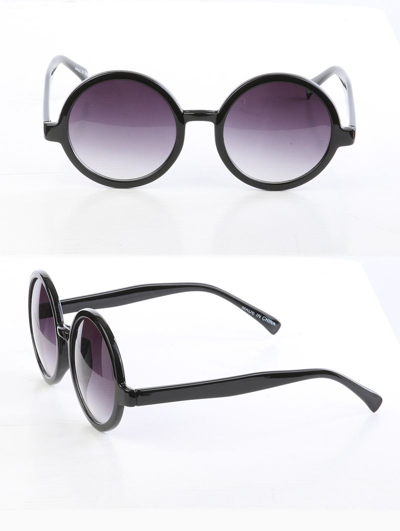 Round Lens Uv 400 Protection