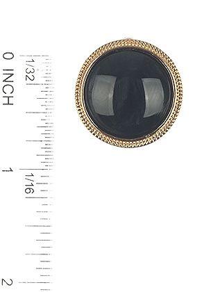 Natural Stone Finish Round Metal Frame