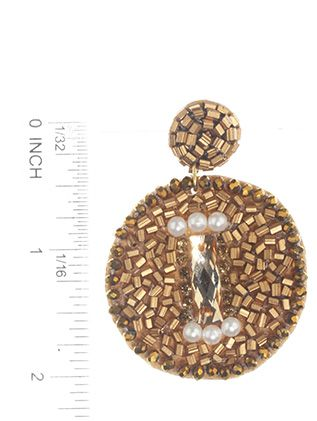 Post Pin Made In India Bead 2 Inch Drop