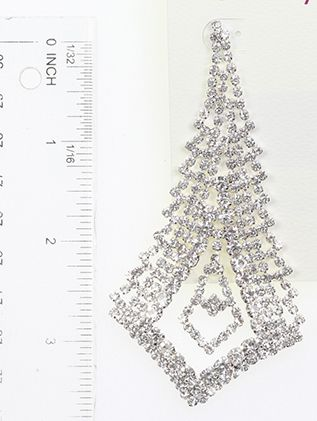 Victorian Style Crystal Stone Metal