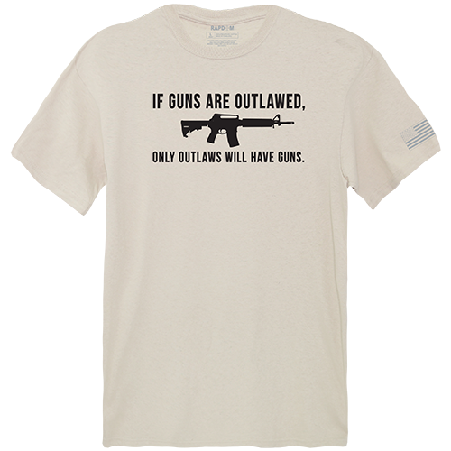 Tactical Graphic T, Outlawed, Sand, Xl