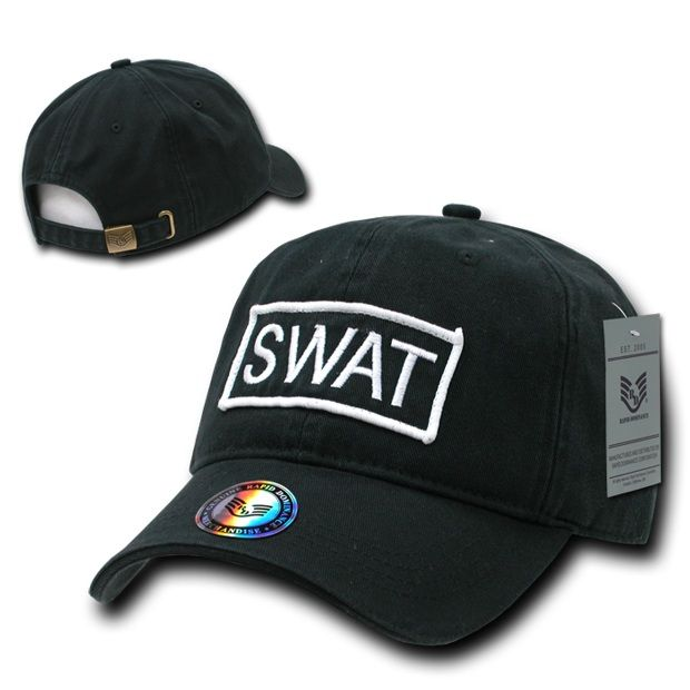 Raid Caps, Swat, Blk