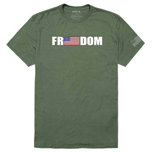 Tactical Graphic T, Freedom, Olv, l