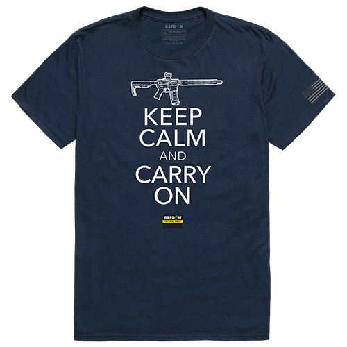Tactical Graphic Tees, Carry On, Nvy, 2x
