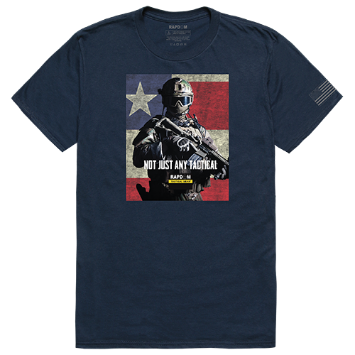Tactical Graphic T,Not Just Any, Nvy, 2x