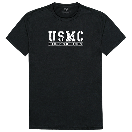 Military Graphic T's, First 2, Blk, m