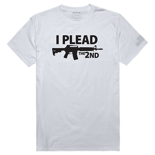 Tac. Graphic T, I Plead The 2Nd, Wht, s