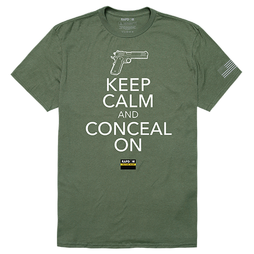 Tactical Graphic T, Conceal On, Olv, m