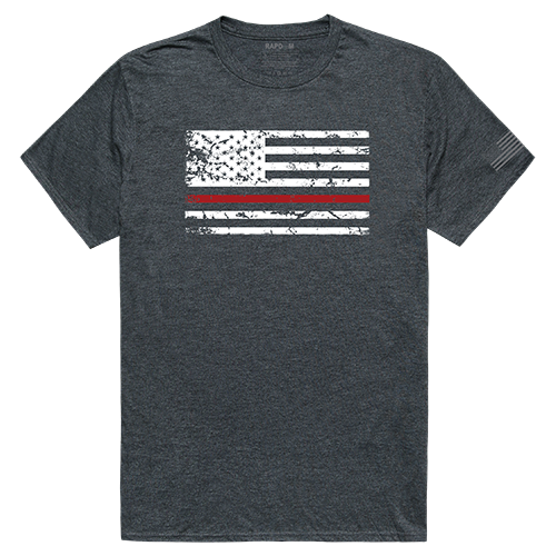 Tacticalgraphic T,Thin Red Line, Hch, 2x