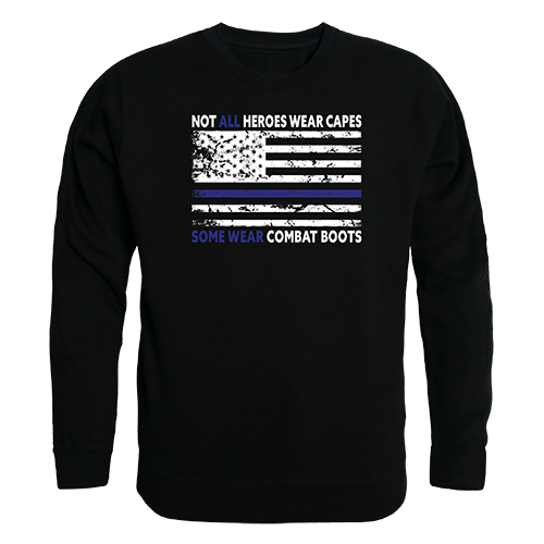 Graphic Crewneck, Not All W/Tbl, Blk, m
