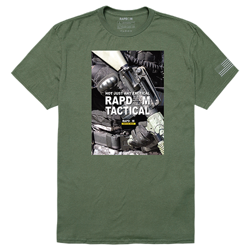 Tactical Graphic T, Rapdom 2, Olv, s