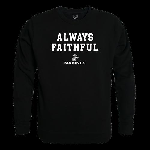 Graphic Crewneck, Faithful 1, Blk, Xl