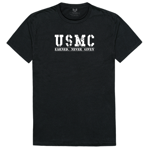 Military Graphic T, Earned 2, Blk, m