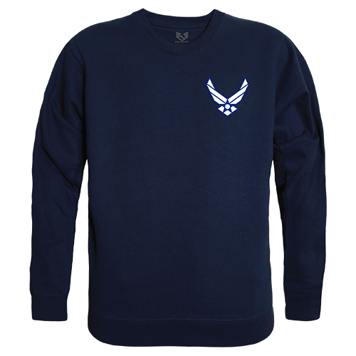Graphic Crewneck, Usaf Wing, Nvy, l