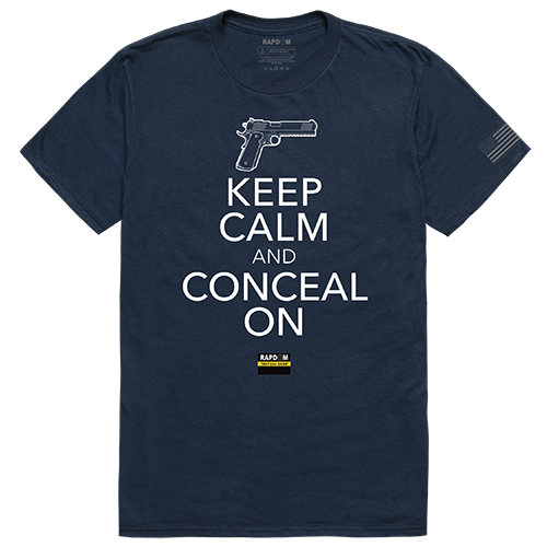 Tactical Graphic T, Conceal On, Nvy, 2x