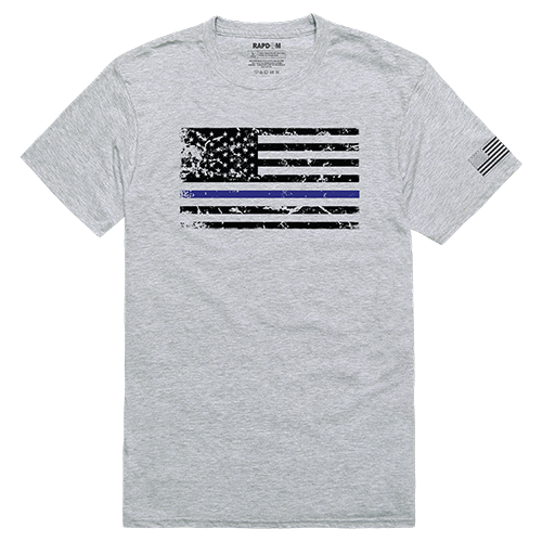Tacticalgraphic T,Thin Blue Line, Hgy, m