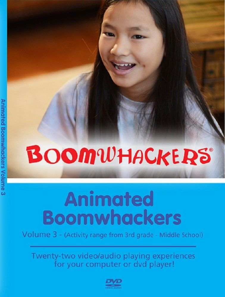 Animated Boomwhackers Vol 3