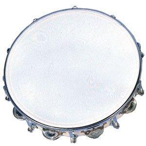 """10"""" Tambourine - 9 Jingles And Tuneable"""