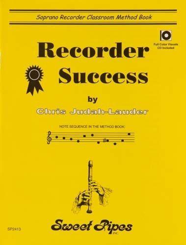 Recorder Success Book/Cd
