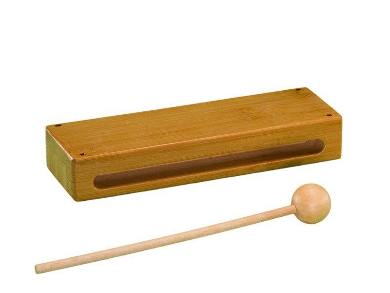 Bamboo Wood Block W/mallet