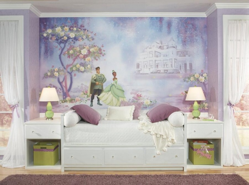 The Princess And The Frog Xl Spray And Stick Wallpaper Mural