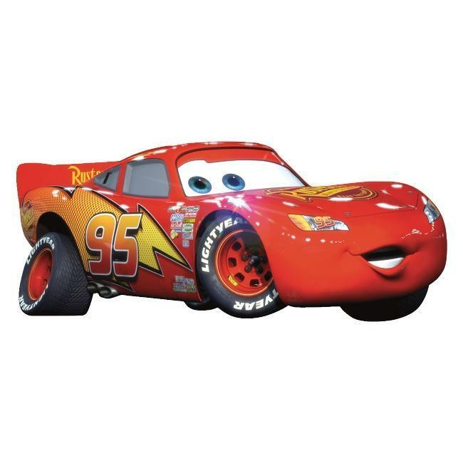 Cars Lightning Mcqueen Giant Wall Decal