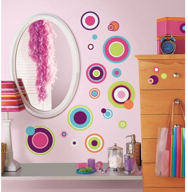 Crazy Dots Wall Decal
