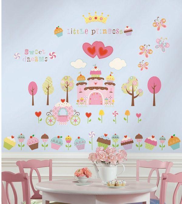 Happi Cupcake Land Wall Decals