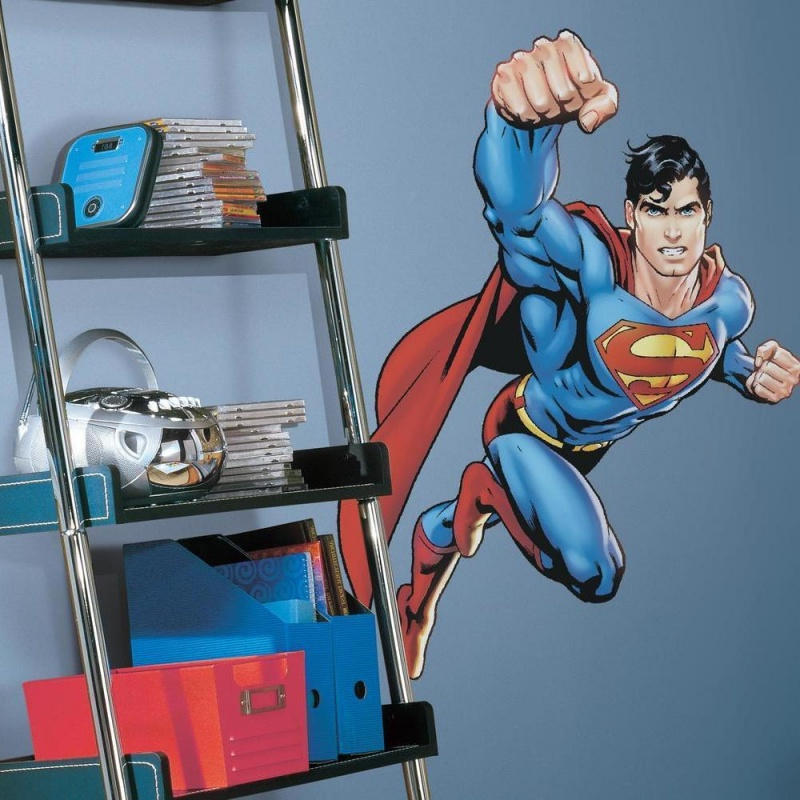 Superman: Day Of Doom Giant Wall Decal