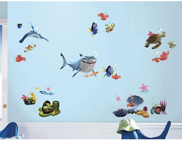 Disney Pixar Finding Nemo Wall Decals