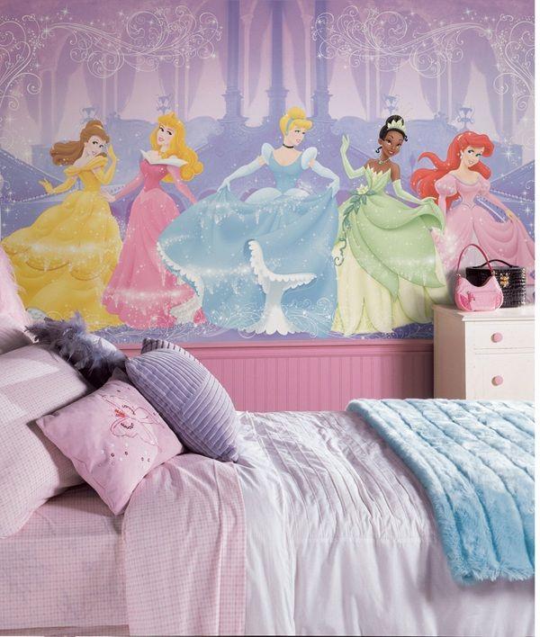 Perfect Princess Prepasted Wall Mural 6' X 10.5'